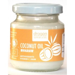 Ulei de cocos virgin presat la rece bio (100ml), Dragon Superfoods