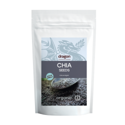 Seminte de chia raw bio (500 g), Dragon Superfoods
