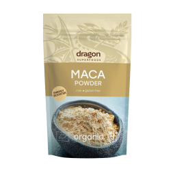 Maca pulbere raw bio (200 grame), Dragon Superfoods