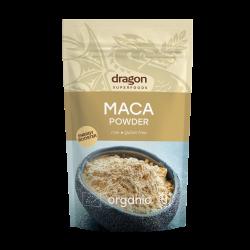 Maca pulbere raw bio (200 grame), Dragon Superfoods