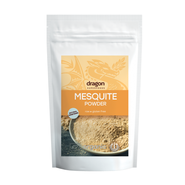 Mesquite pulbere bio (200 grame), Dragon Superfoods