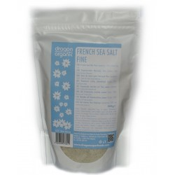 Sare celtica fina (sare gri) (500 g), Dragon Superfoods