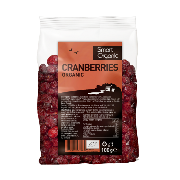 Merisor raw bio (100 g), Smart Organic