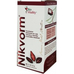 Nikvorm sirop (60 ml), Bio Vitality