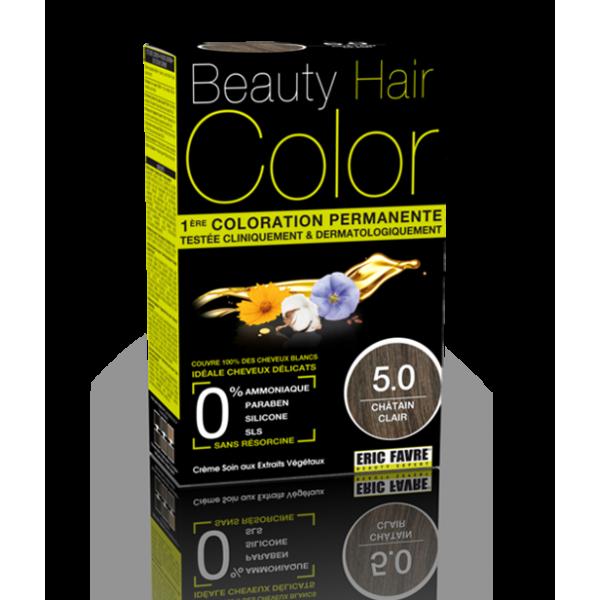 Beauty Hair - Vopsea de par 5 Saten deschis, Eric Favre