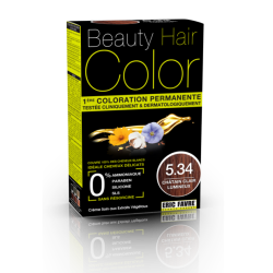 Beauty Hair - Vopsea de par 5.34 Saten deschis luminos, Eric Favre