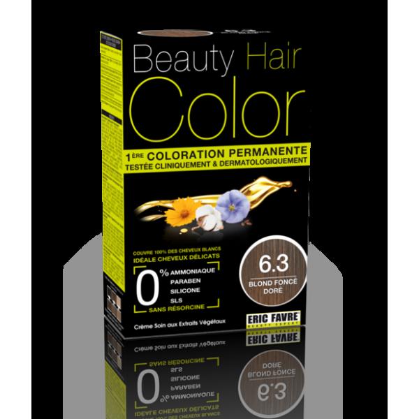 Beauty Hair - Vopsea de par 6.3 Blond inchis auriu, Eric Favre