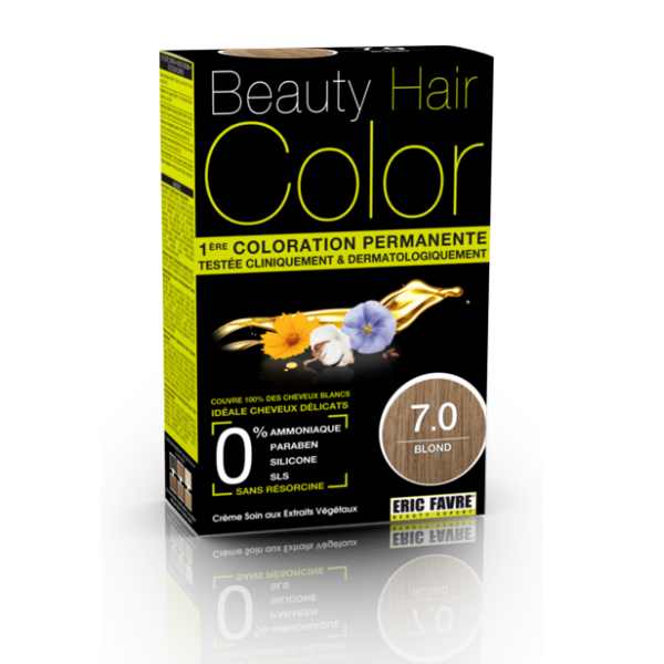 Beauty Hair - Vopsea de par 7 Blond, Eric Favre