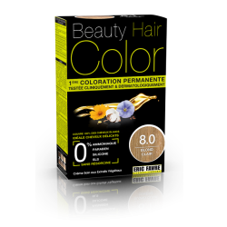 Beauty Hair - Vopsea de par 8 Blond deschis, Eric Favre