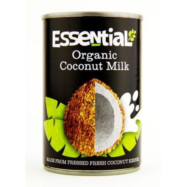 Lapte de cocos bio (400 ml), Essential