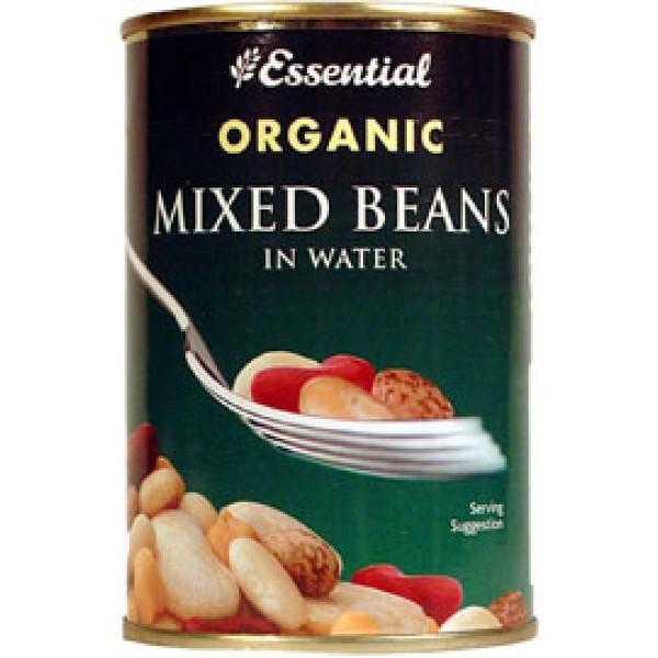 Mix 4 boabe la conserva bio (400 grame), Essential