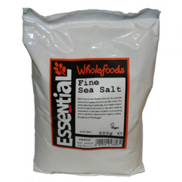 Sare de mare fina (500g) organic approved, Essential