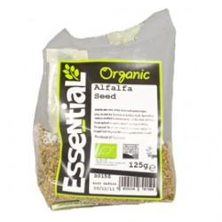 Seminte de lucerna (alfalfa) pentru germinat bio (125g), Essential