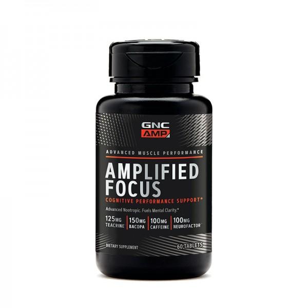 AMP Amplified Focus (60 capsule), GNC