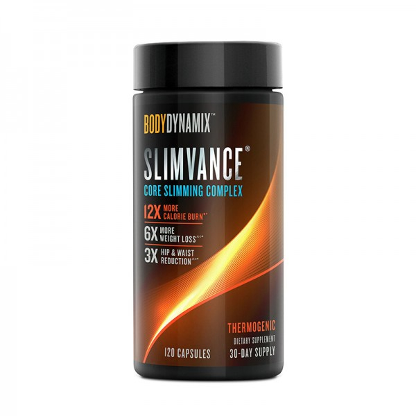 Slimvance Formula pentru controlul greutatii (120 capsule), GNC BodyDynamix