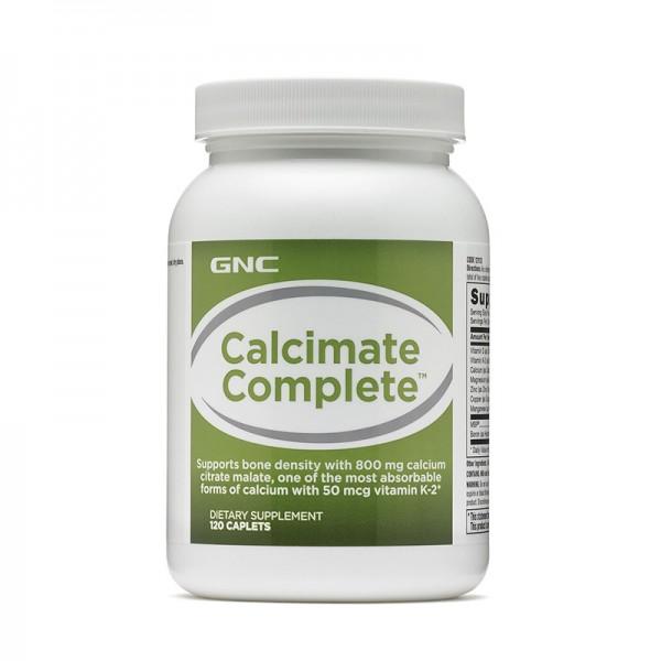Calcimate Complete Calciu (120 capsule), GNC