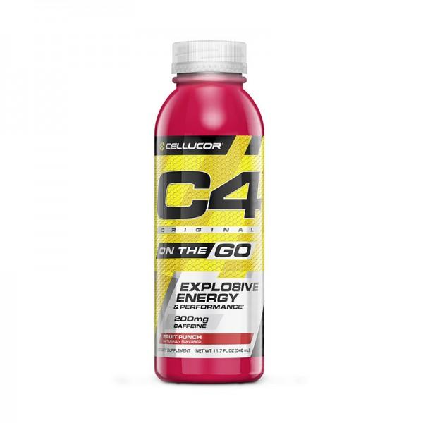 Cellucor C4 Original On The Go Formula pre-workout cu aroma de fructe (346 ml), GNC