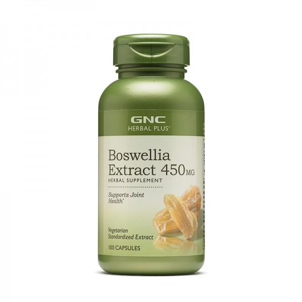 Extract standardizat Boswellia 450 mg (100 capsule), GNC Herbal Plus