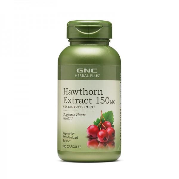 Extract standardizat de paducel 150 mg (100 capsule), GNC Herbal Plus