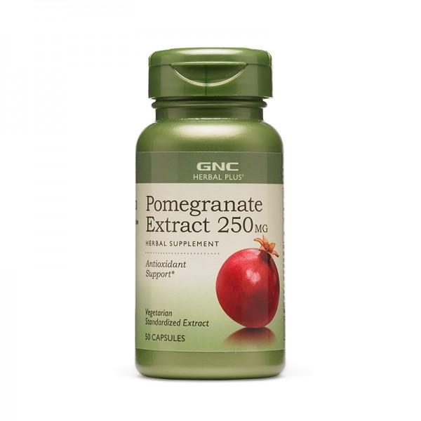 Extract standardizat de rodie 250 mg (50 capsule), GNC Herbal Plus