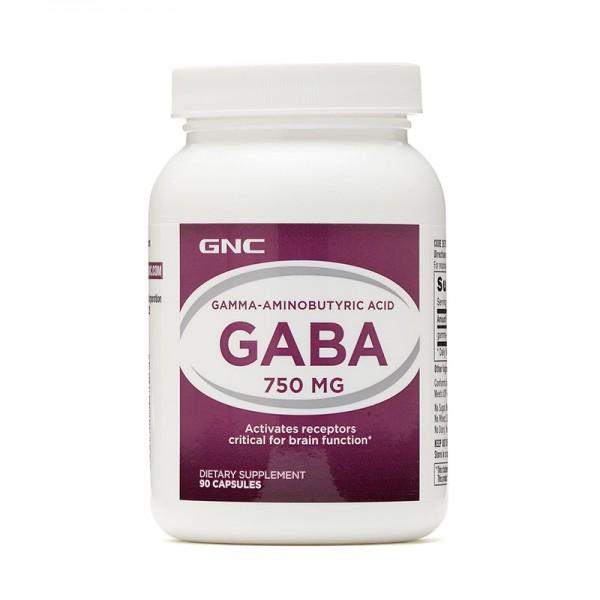Gaba 750 mg (90 tablete), GNC