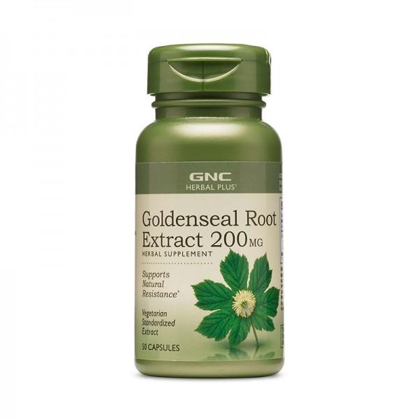 Extract standardizat de gentiana 200 mg (50 capsule), GNC Herbal Plus