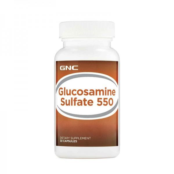 Glucozamina Sulfat 550 mg (30 capsue), GNC