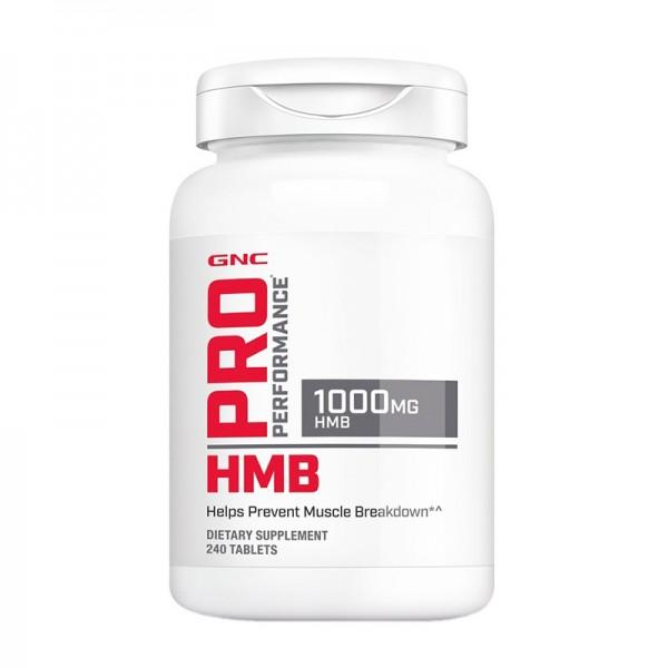 HMB 1000 mg (240 capsule), GNC Pro Performance
