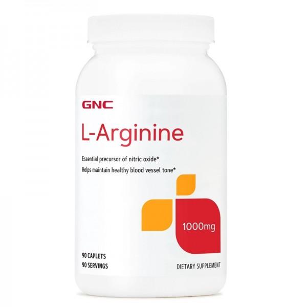 L-Arginine 1000 mg (90 tablete), GNC