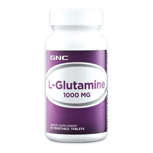 L-Glutamina 1000 mg (50 capsule), GNC
