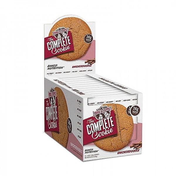 The Complete Cookie Biscuit proteic vegan cu aroma de scortisoara (113 grame), GNC Lenny & Larry's