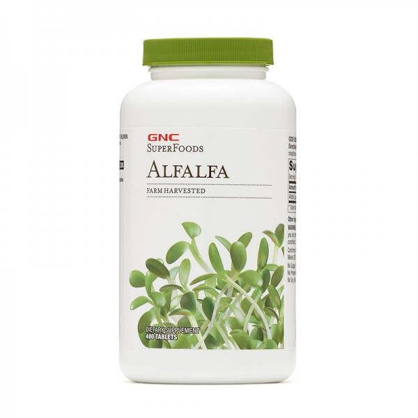 Lucerna 500 mg (480 capsule), GNC SuperFoods