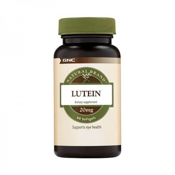 Luteina 20 mg (60 capsule), GNC Natural Brand