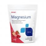 Magneziu 250 mg cu aroma naturala de capsuni (60 caramele), GNC
