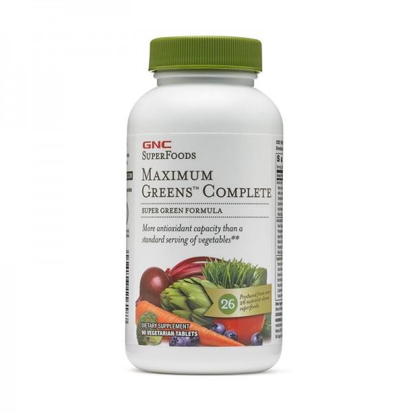 Maximum Greens Complete (90 capsule), GNC SuperFoods