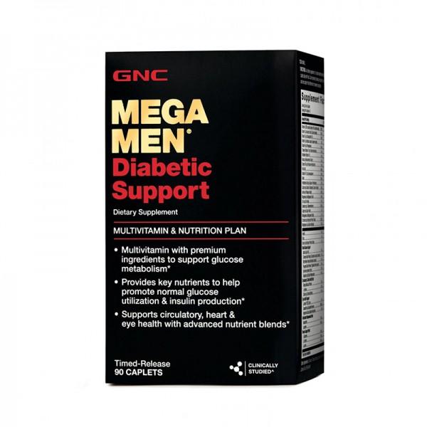 Mega Men Diabetic Support (90 capsule), GNC