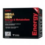 Mega Men Energy & Metabolism Vitapak - Program pentru energie si metabolism (30 pachetele), GNC
