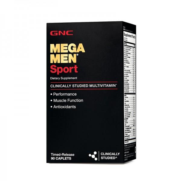 Mega Men Sport Complex de multivitamine (90 tablete), GNC