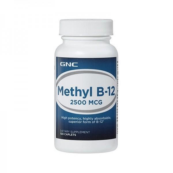 Metilcobalamina Vitamina B-12 2500 mcg (100 capsule), GNC