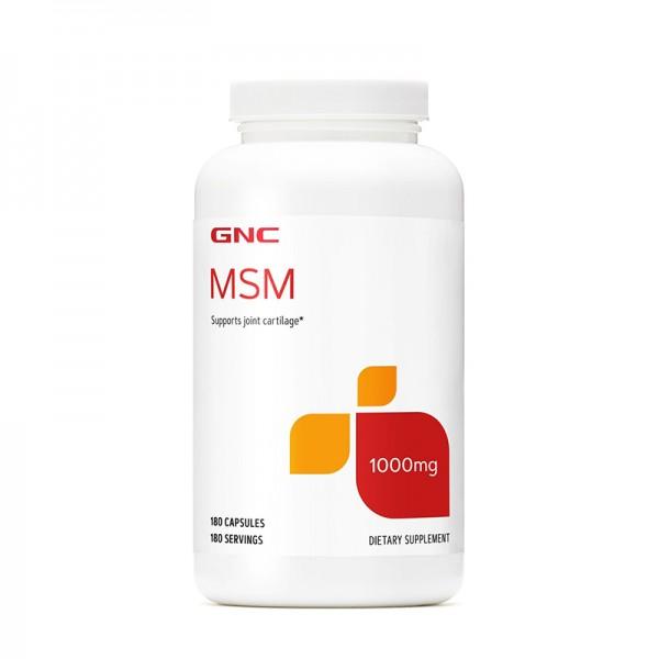 MSM 1000 mg (180 capsule), GNC