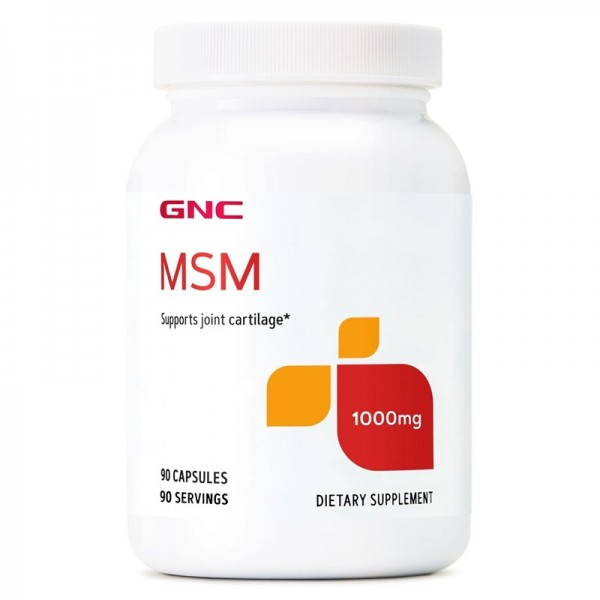 MSM 1000 mg (90 capsule), GNC