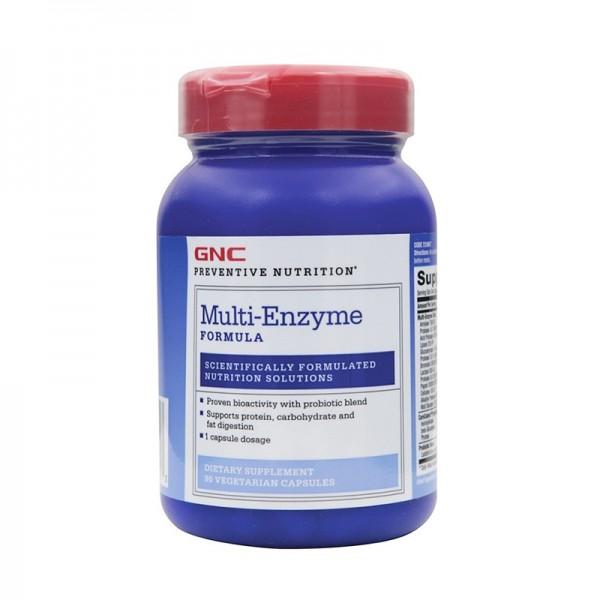 Multi Enzyme Formula enzime digestive (90 capsule), GNC Preventive Nutrition
