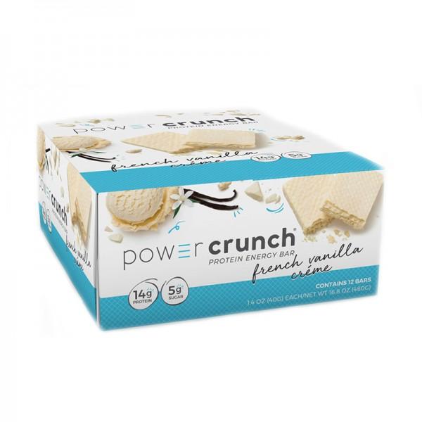 Power Crunch Napolitana proteica cu aroma de vanilie (40 grame), GNC