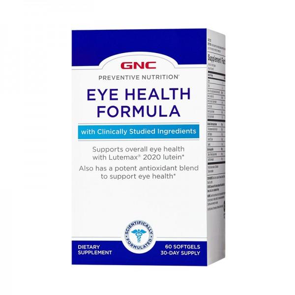 Formula pentru sanatatea ochilor (60 capsule), GNC Preventive Nutrition