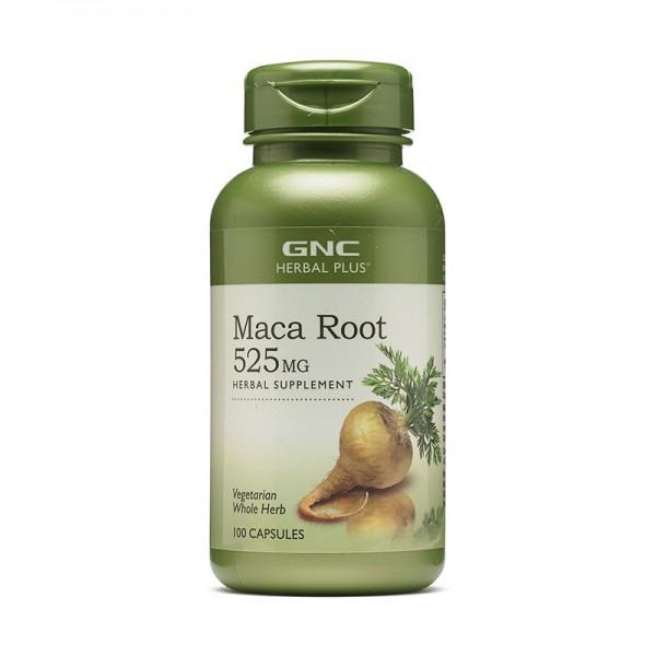 Radacina de Maca 525 mg (100 capsule), GNC Herbal Plus