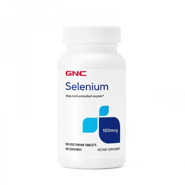 Seleniu 100 mcg (100 capsule), GNC