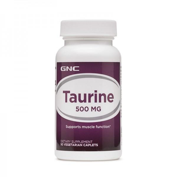 Taurina 500 mg (50 tablete), GNC