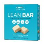 Lean Baton proteic cu aroma de ciocolata alba crocanta (48 grame), GNC Total Lean