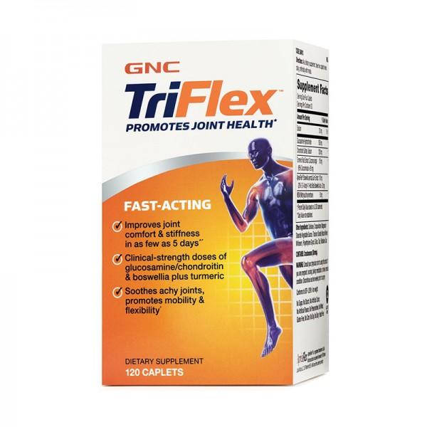 Triflex Fast Acting Formula pentru sanatatea articulatiilor (120 tablete), GNC