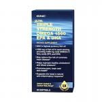 Ultra Triple Strength Omega 1560 EPA & DHA (60 capsule), GNC